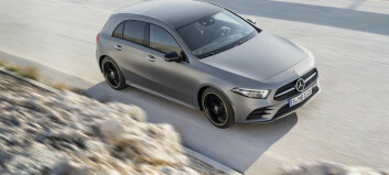 Nye Mercedes A-klasse med bedre plass og avansert utstyr