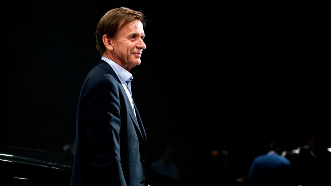 GODE TALL: Volvo-sjef Håkan Samuelsson kan glede sine kinesiske eiere med vekst i salget. Foto: Volvo