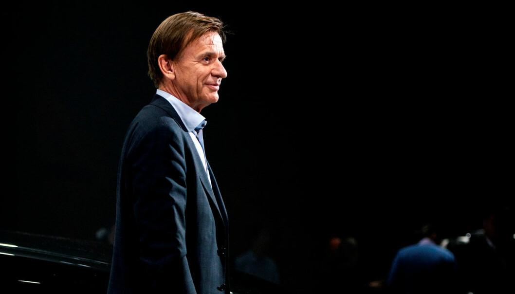 """<span class=""""font-weight-bold"""" data-lab-font_weight_desktop=""""font-weight-bold"""">TENKER SIKKERHET:</span> Volvo-sjef Håkan Samuelsson."""