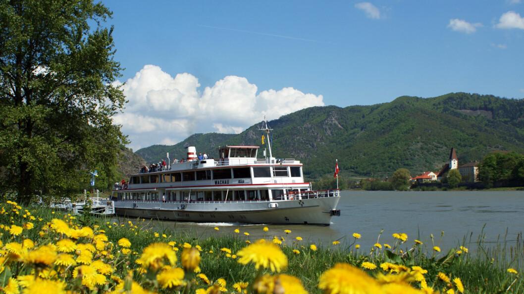 Vi reise med båt på Donau, og det blir mulighet for å sykle langs elvebredden.