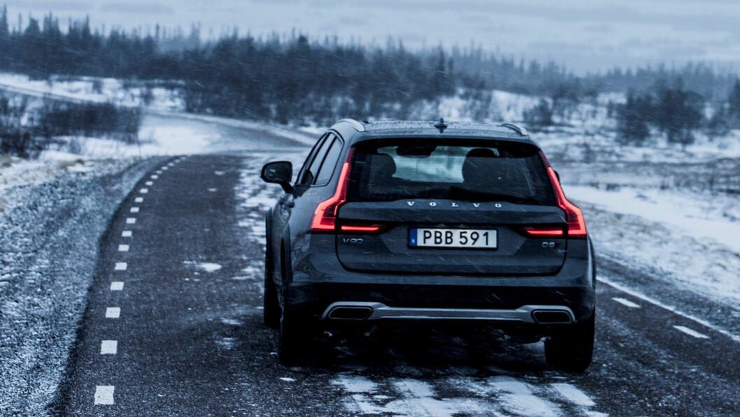 POPULÆR: Volvo V90 hadde en markedsandel på 4,6 prosent i februar. Foto: Volvo Cars