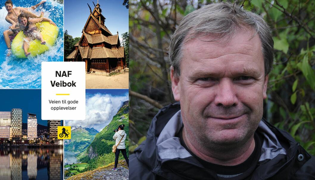 GLADMELDING: NAF Veibok kommer i sin 32. utgave neste vinter, opplyser redaktør Per Roger Lauritzen.