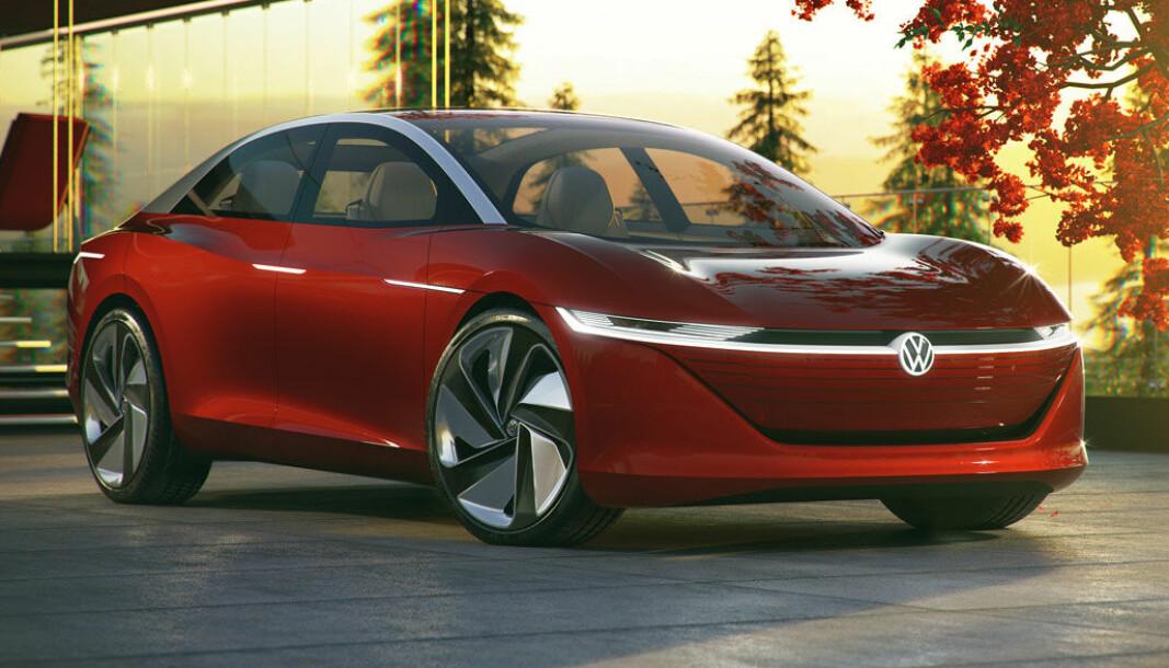 ID.6? Konseptbilen ID.Vizzion kommer i 2023 som ID.6, i følge engelsk motorpresse.