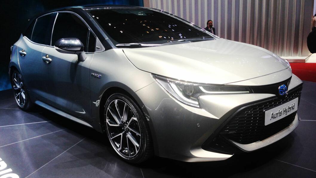 GOLF-KONKURRENT: Toyota forventer at 95 prosent av kundene i Norge vil velge hybridutgaven av nye Toyota Auris. Foto: Øivind A. Monn-Iversen