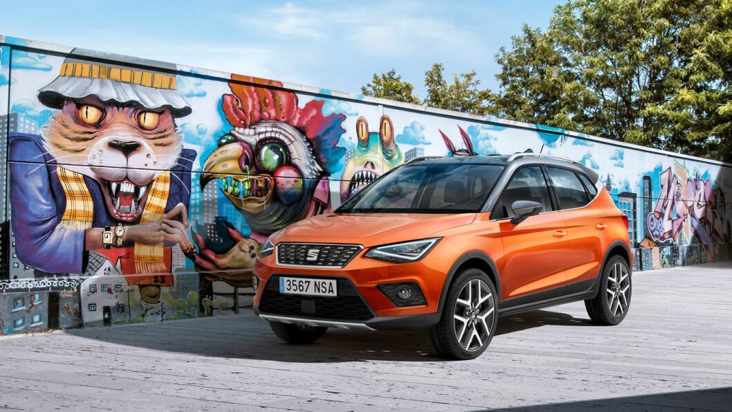 SPANSK COME-BACK: Når Seat relanseres i Norges, blir SUV'en Arona en viktig modell for å kapre markedsandeler. Foto: Seat