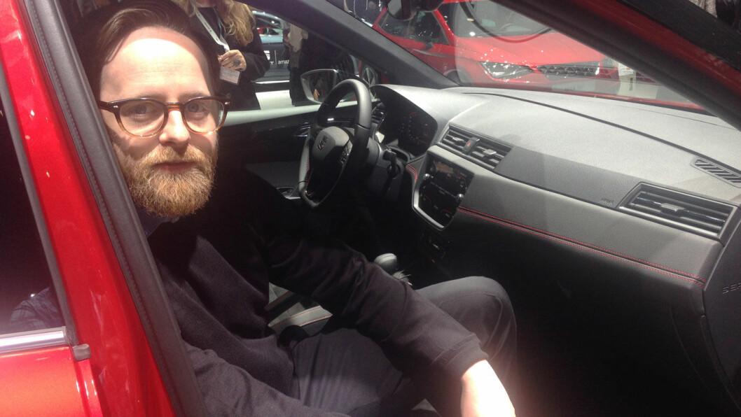 ENKELT: Seat re-lanseres i Norge med en salgsprosess som er en fullblods nettløsning, ifølge kommunikasjonssjef Øyvind Rognlien Skovli. Foto: Øivind A. Monn-Iversen