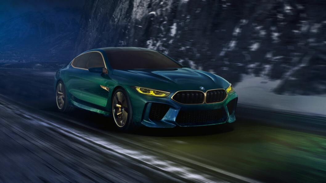 BMW konseptbil M8 Gran Coupe