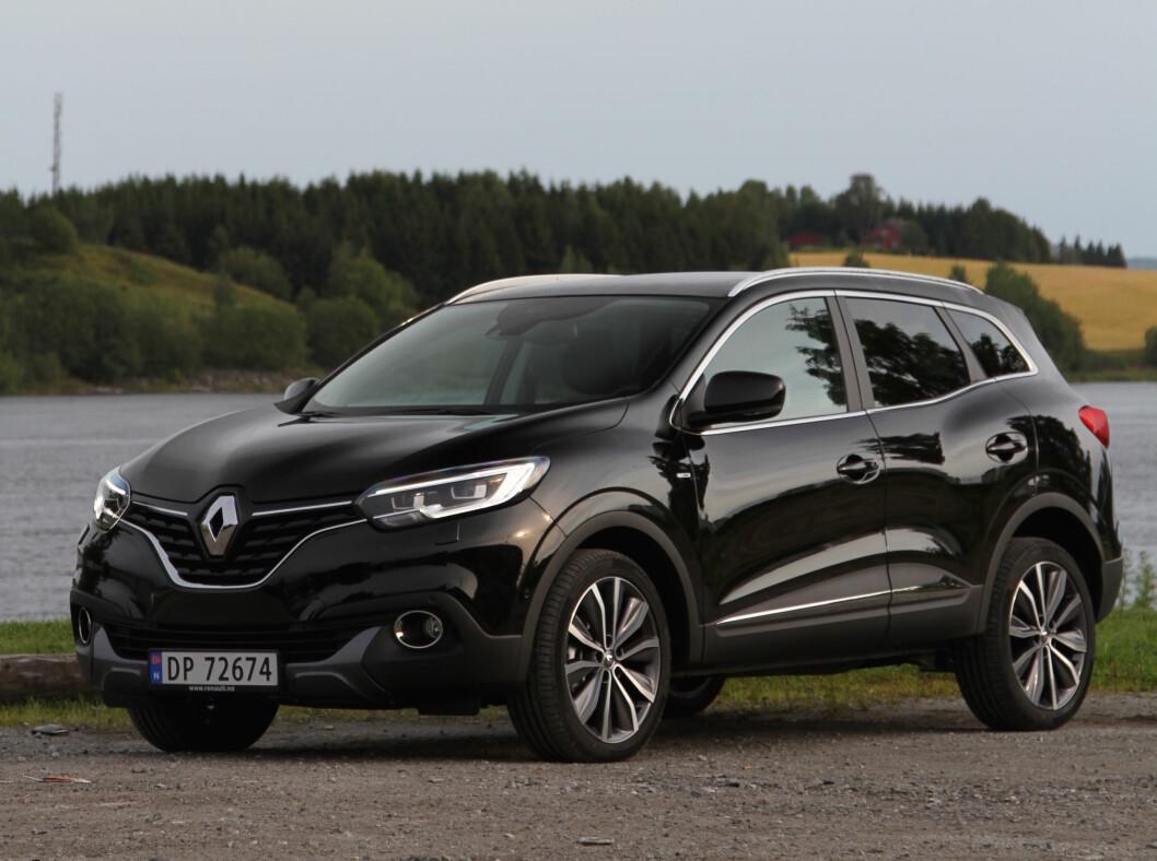 PRISGUNSTIG: Renault Kadjar er søstermodellen til Nissan Qashqai og er en prisgunstig konkurrent i det store SUV-segmentet. Foto: Rune Korsvoll