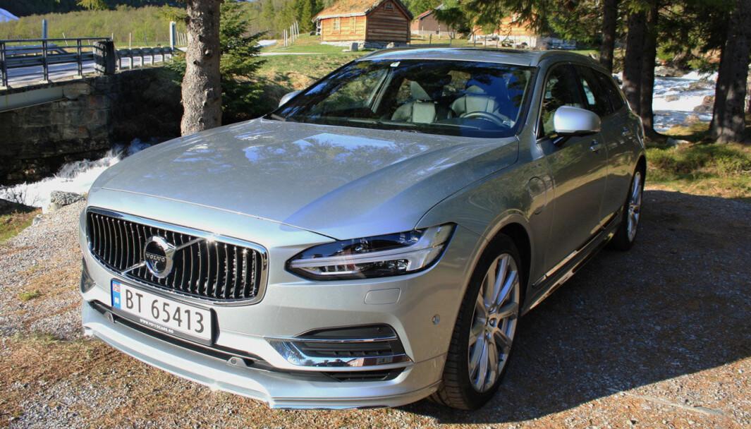 VARSEL: Nyere Volvoer er rustutsatt, og spesielt V90 får gjennomgå av svenske eksperter.
