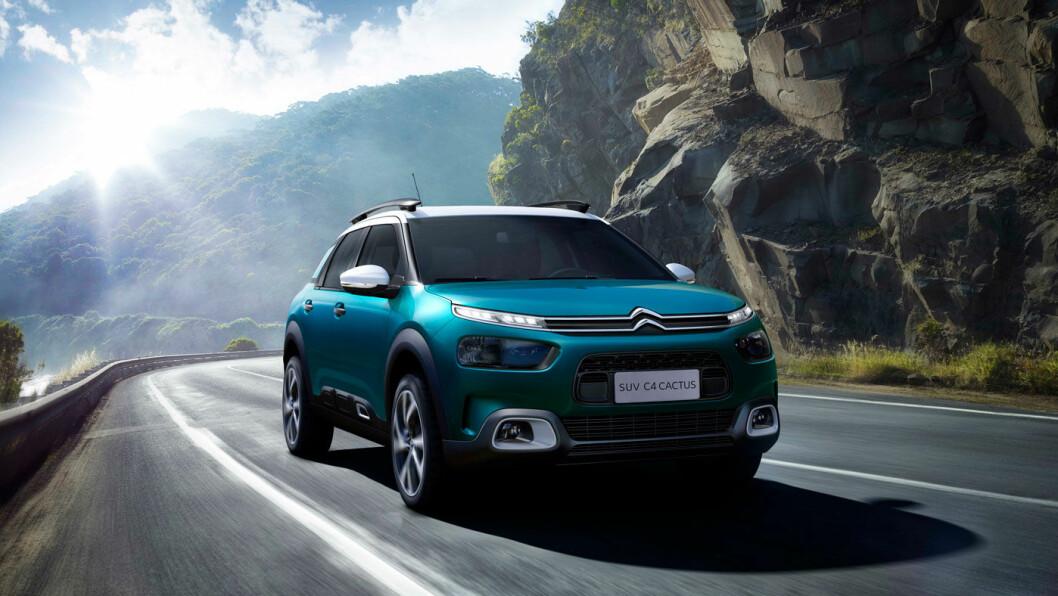 FLYTER AVGÅRDE: Skal du ha en liknende fjæringsopplevelse i dagens biler som på Citroën C4 Catus, må du over på luftfjæring – og biler i millionklassen.
