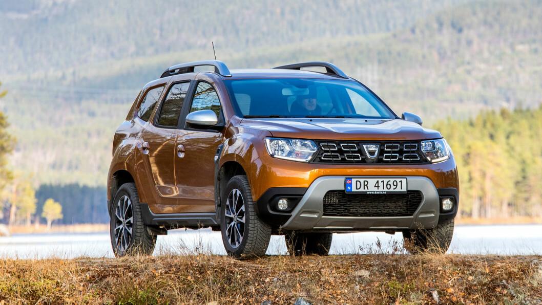 FERSKING: Det er ikke så mange nordmenn som kjenner til Dacia Duster. Men med firehjulsdrift, praktisk SUV-karosseri og solid Renault-teknikk til en billig penge, er den verdt et nærmere bekjentskap. Foto: Tomm W. Christiansen