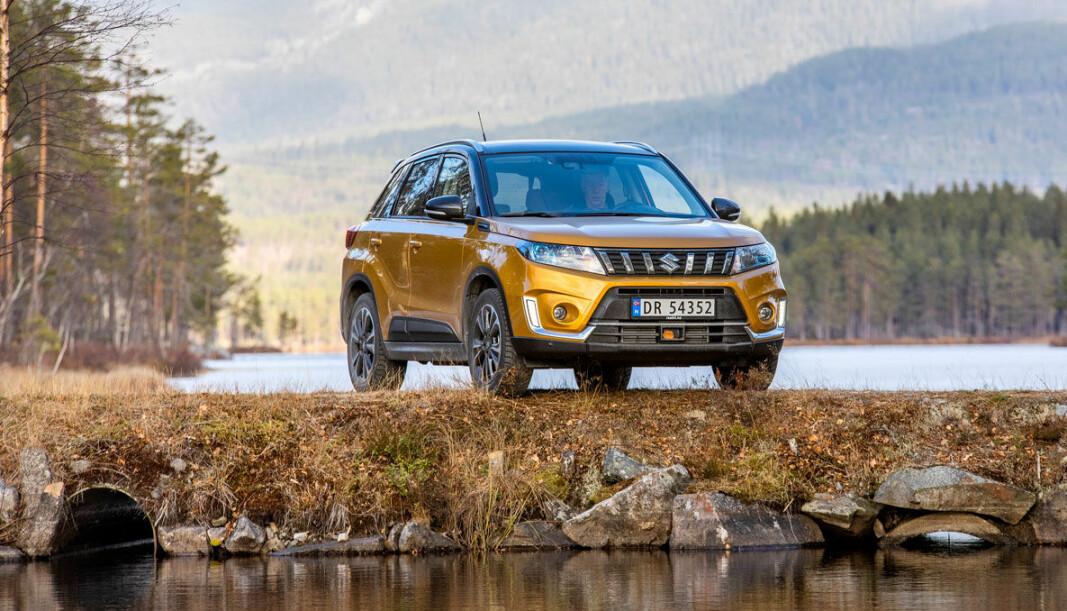 <b>BESTSELGER</b>: Suzuki Vitara er i øyeblikket den mestselgende Suzuki-modellen, med en 62. plass på nyregsstreringsstatistikken.