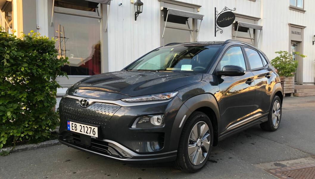 STØYPAKKE: En ny Hyundai Kona kan nå leveres med en pakke som inkluderer støydemping.
