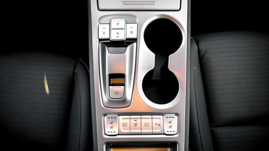 LOGISK: Interiøret har grei brukskarakter og selve instrumentpanelet er lettbetjent.
