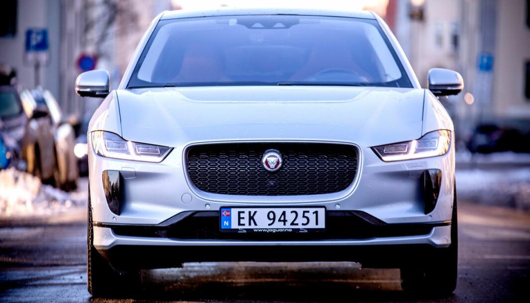MER AV DETTE: Jaguar Land Rover skal utelukkende lage elbiler, som populære I-Pace.