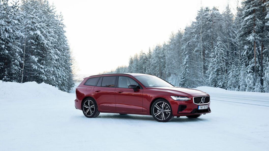 IKKE PRISPRINSESSEN: Skjønnheten har sin pris, og V60 koster mer enn mange større konkurrenter. Men mange er villige til å betale for det lille ekstra Volvo tilbyr.