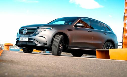 Klassisk Mercedes med elektrisk pris