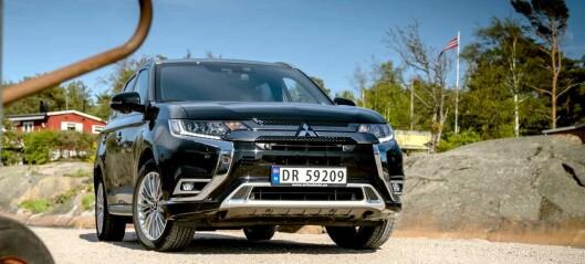 Over og ut for Mitsubishi i Norge