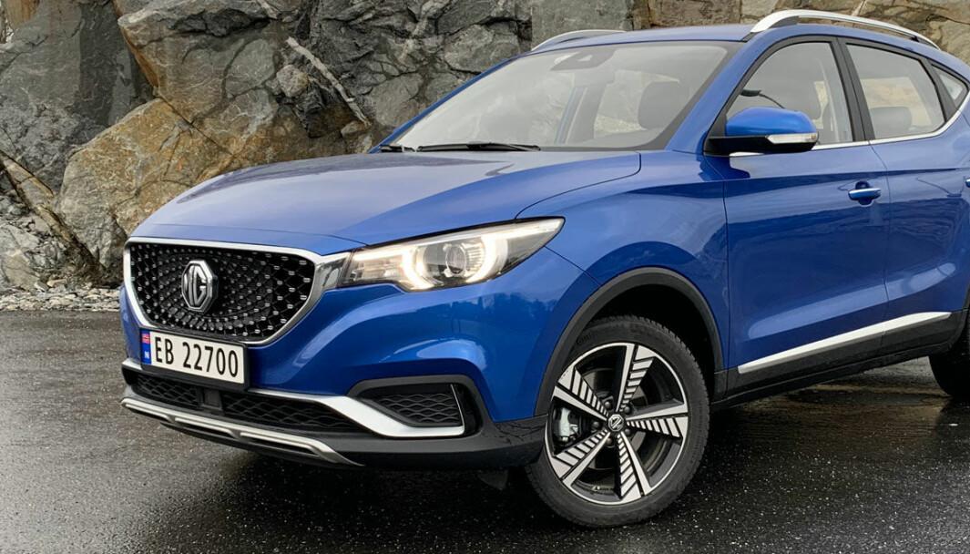 POPULÆR: Kinesiske MG ZS EV har fått en meget god mottakelse i Norge, og var sjuende mest solgte bilmodell i Norge i 2020.