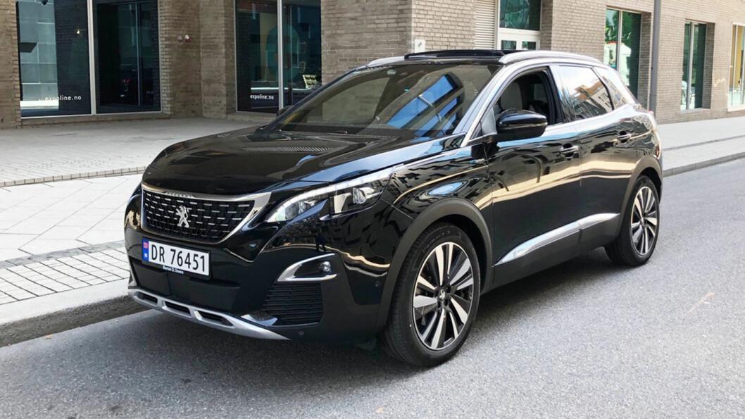 BEDRE OG DYRERE: Peugeot har piffet opp 3008.