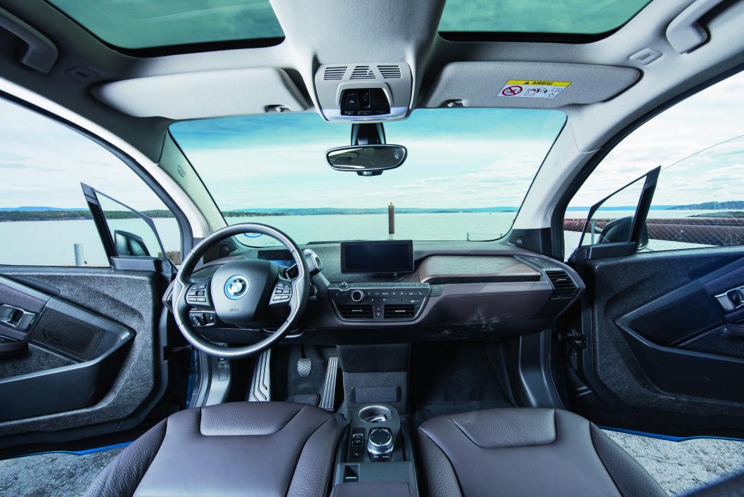 OVERSIKT: I3 er høybygd, noe som gjør at oversikten fra førerplassen er svært god.
