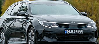 Kia Optima utfordrer VW Passat