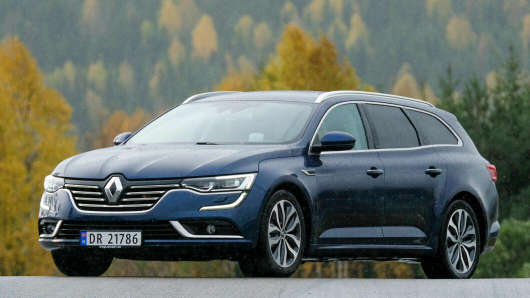 STOR OG STILIG: Renault Talisman er større enn flere av konkurrentene og har et utseende som mange mener er spennende. Foto: Jon Terje Hellgren Hansen
