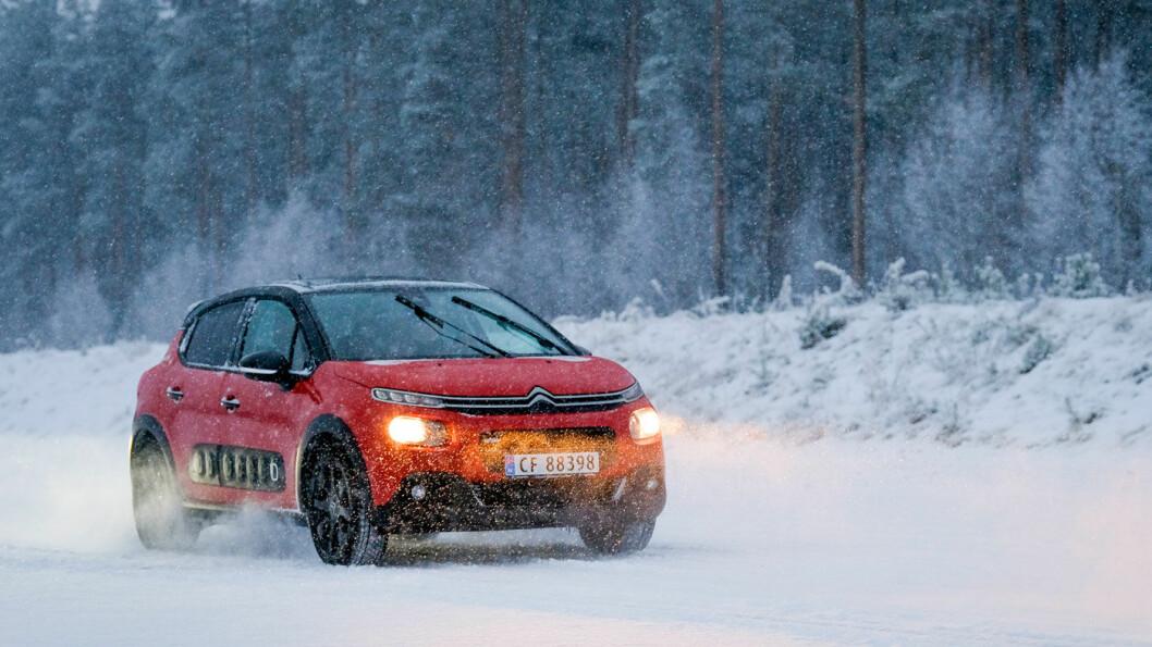 PRISVINNER: Citroën C3 koster fra 163.000 kroner og det er mye bil for pengene.