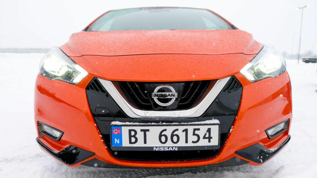 SMÅTT OG GODT: Nye Nissan Micra blir en tøff konkurrent i småbil-klassen med en startpris på 189.900 kroner.