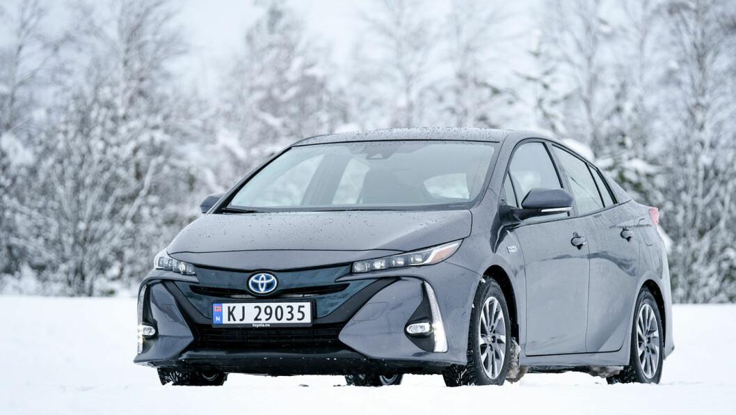 UTFORDRES: En Prius plug-in kan fortsatt være det opplagte valget for mange – ikke minst på grunn av Toyotas unike kompetanse på feltet og solide merkevare. Foto: Jon Terje Hellgren Hansen