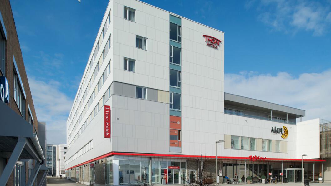 VELKOMMEN: Thon Hotel Alta er ikke kjedens mest sjarmerende tilbud, men service og standard er solid.