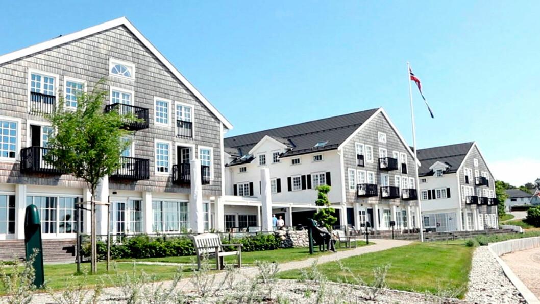 INSPIRERT AV THE HAMPTONS: Støtvig Hotel på Larkollen utenfor Moss er nybygget i en amerikansk østkyststil.