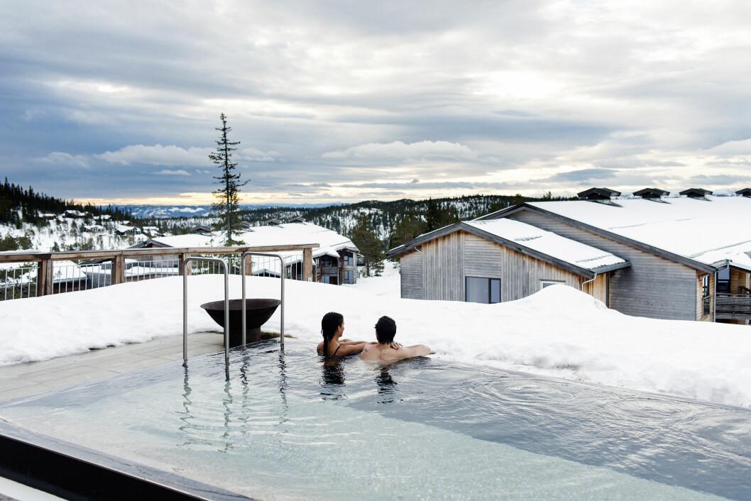 LUKSUS? Ja, ved første øyekast. Men Norefjell Ski & Spa innfrir ikke.