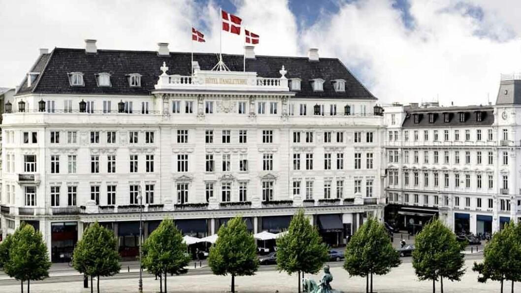 DRONNINGEN: D'Angleterre er et av Nordens flotteste hotell, verken mer eller mindre.