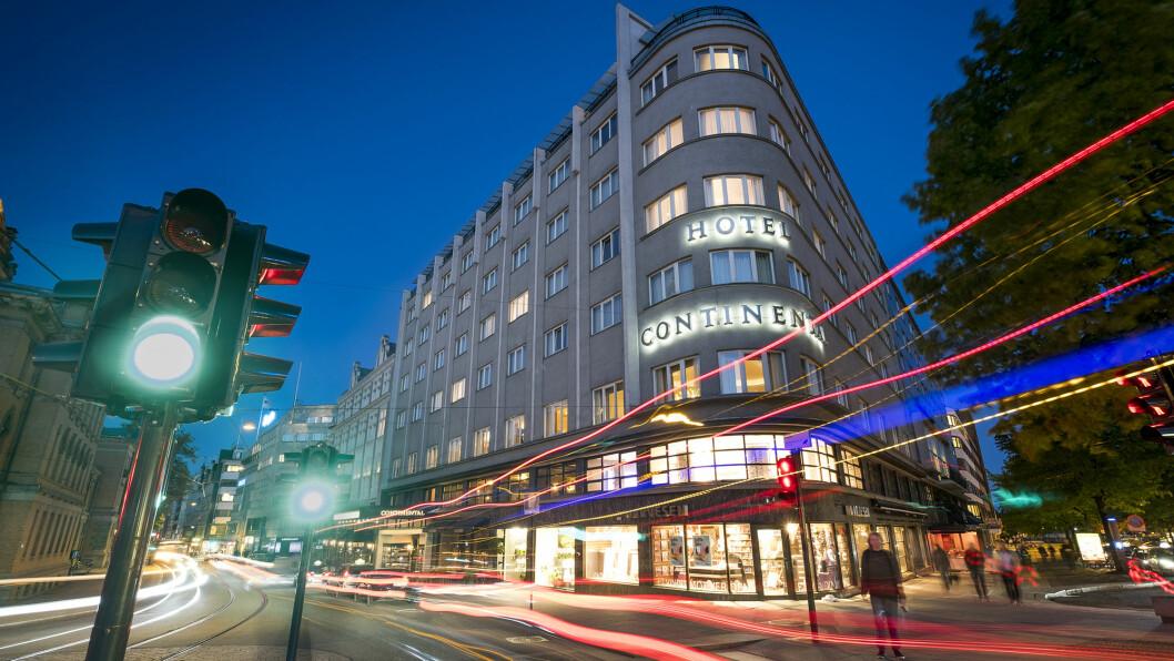 OSLO-LUKSUS: Hotel Continental er hovedstadens luksushotell nummer 1.