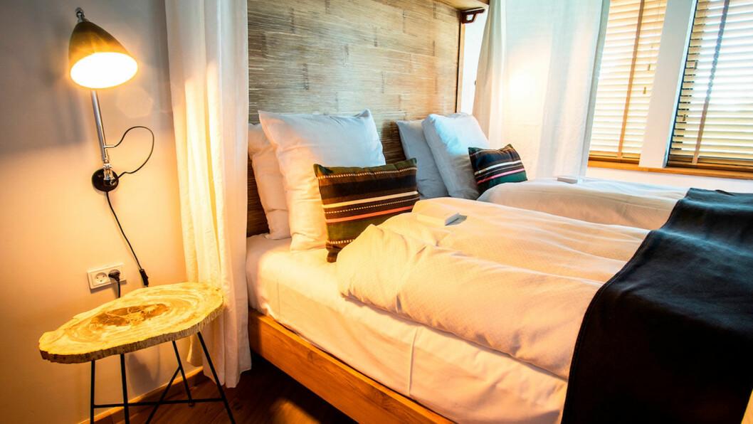 SOVE: Myk og god seng frister.