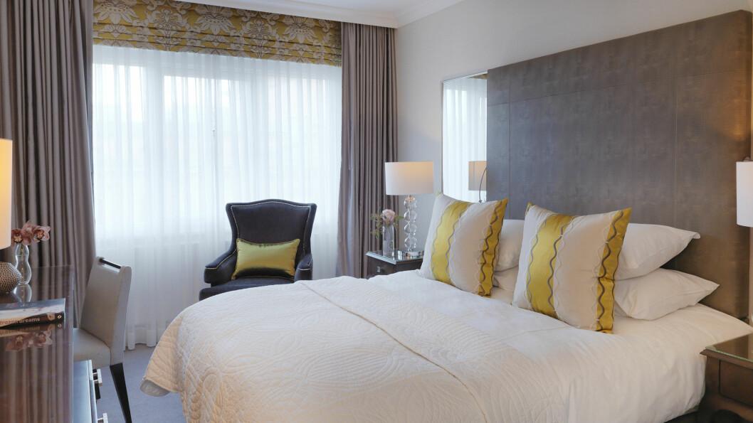 HØY STANDARD: Hotel Continentals standard-rom.