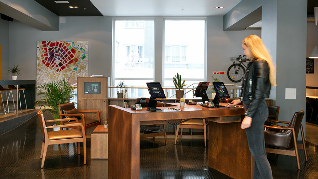 VELKOMMEN: God service og hyggelig velkomst venter deg på Comfort Xpress Hotel i Oslo.
