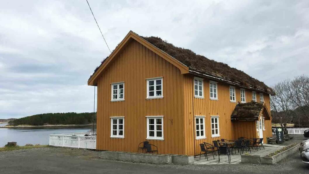 I HAVGAPET: Bjartmars Favorittkro ligger like ved turistopplevelsen Atlanterhavsvegen.