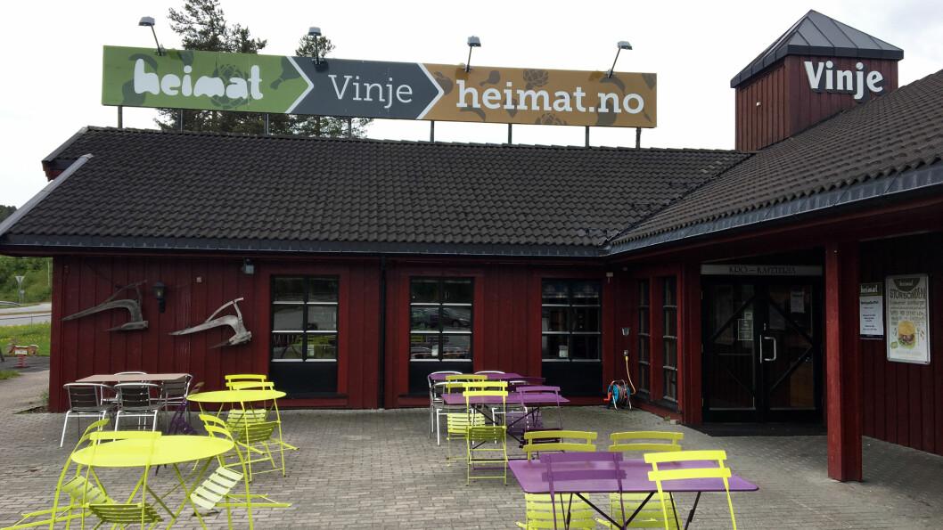 VEIKROKJEDE: Heimat har fire veikroer i Telemark og Aust-Agder. Heimat Vinje ligger i Åmot i Telemark.