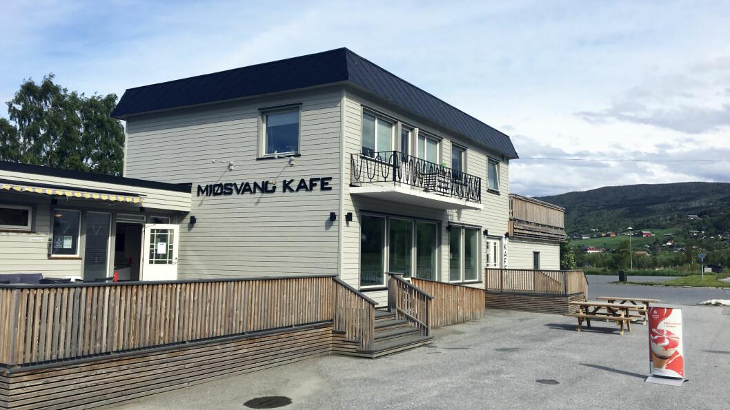 MJØSVANG KAFÉ: Helt nord i Valdres, på E16 før du kommer til Tyin.