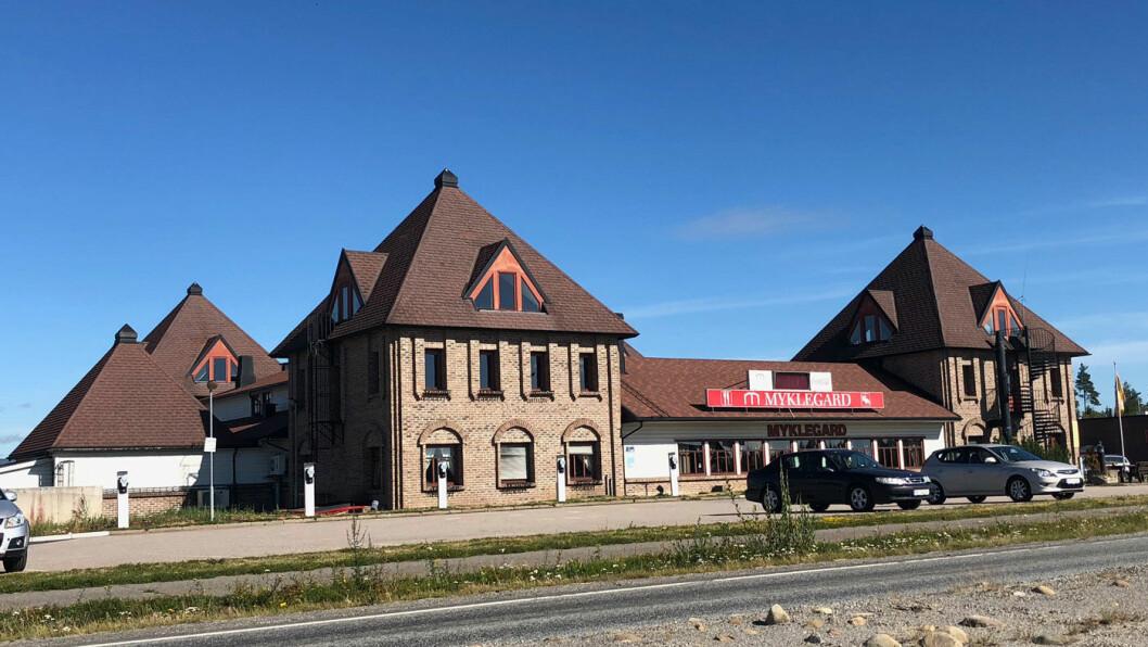 STRATEGISK: Myklegard ligger ved krysset der riksvei 3 møter riksvei 25 i hjertet av Hedmark.