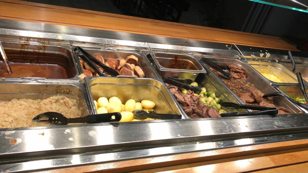 REDNINGEN: Gå for buffet hvis du besøker Rudshøgda Gjestegård, eventuelt signaturretten fra Utvalgte spisesteder.
