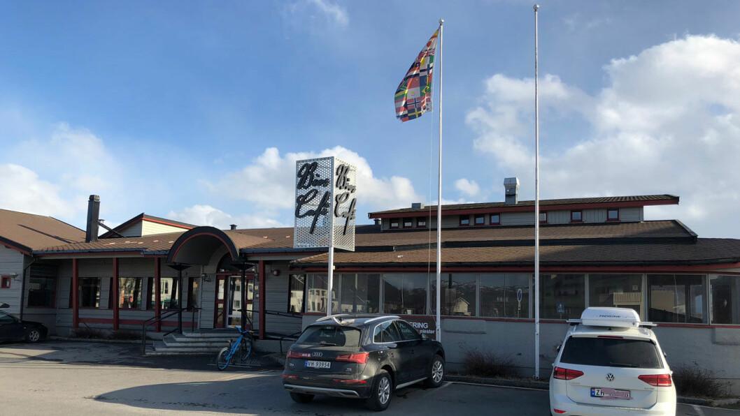 HØY KLASSE: Bios Café helt nord i Troms har mat –og priser – som matcher mange restauranter.