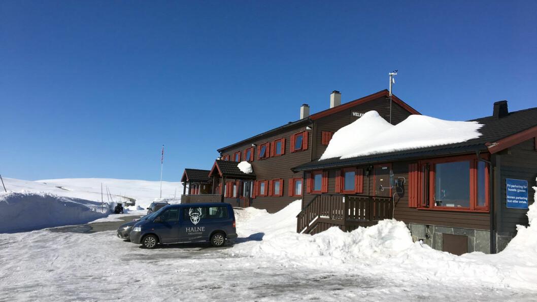 HØYT TIL FJELLS: Midt oppå Hardangervidda får du overraskende god og skikkelig mat av lokale råvarer.