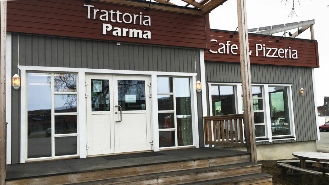 GODT SPISESTED: Trattoria Parma er mer restaurant enn veikro, men uansett et godt stoppested for reisende i Finnmark.