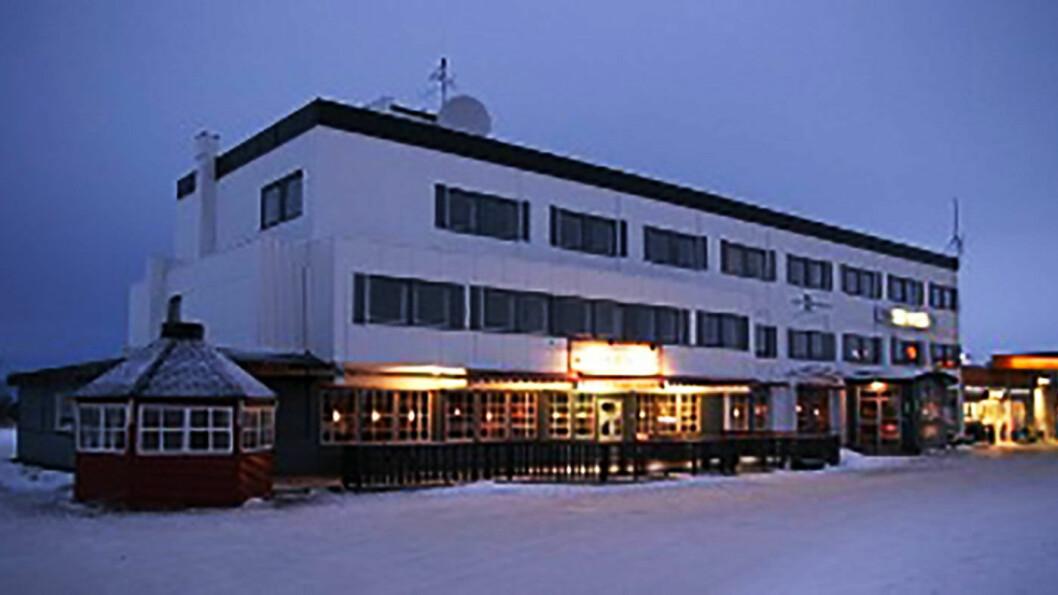 VERTSHUS: Spisestedet i førsteetasje på Porsanger vertshus er vel verdt et stopp.
