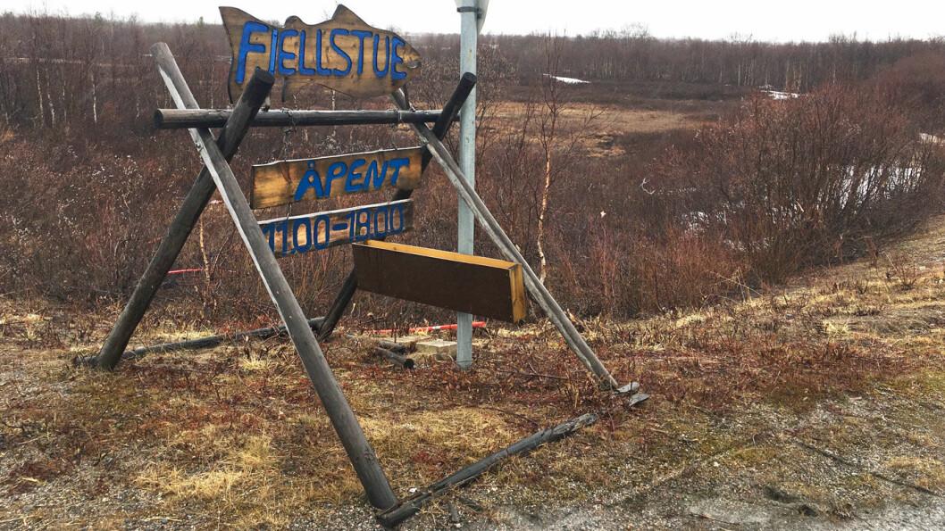 AVSTIKKER: Neiden fjellstue ligger en kort avstikker fra E6 – på riksvei 893 mot Ivalo.