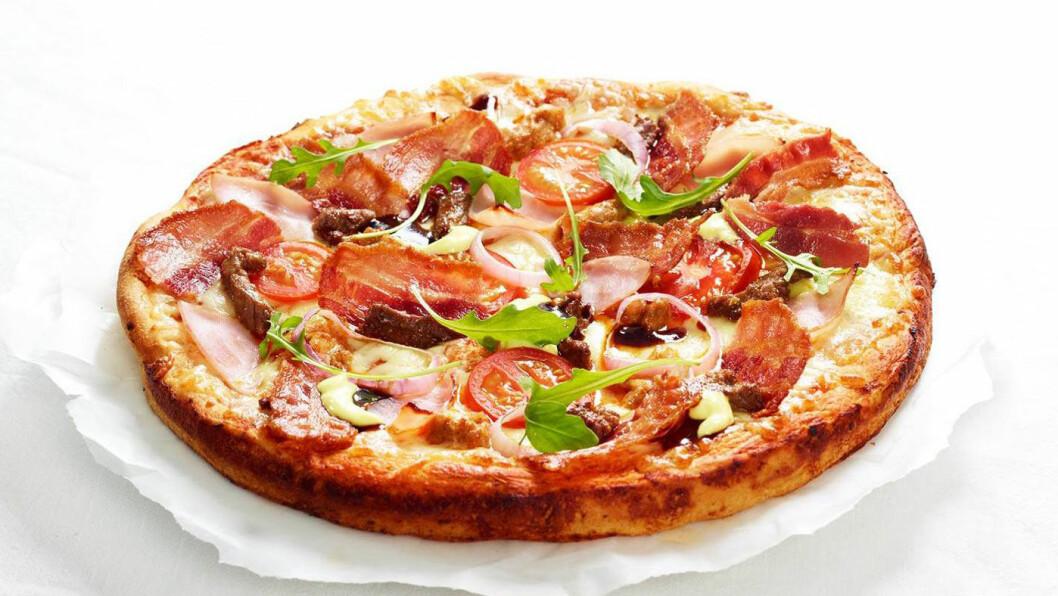 UTVALG: Patricias har ca 30 pizza-varianter.