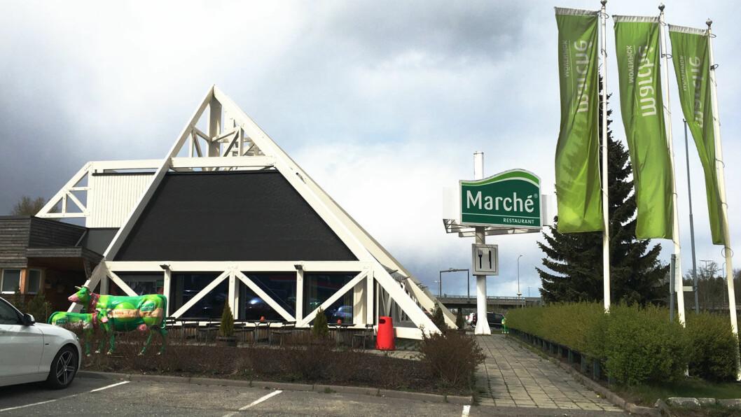 BEST I KLASSEN: Marché-filialen på Kløfta er den beste av kjedens spisesteder som vi har testet.